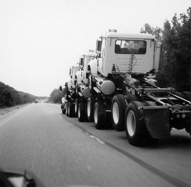 Trucks (silver gelatin, 20